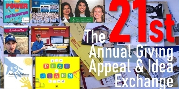 The 2020 Annual Giving Appeal and Idea Exchange
